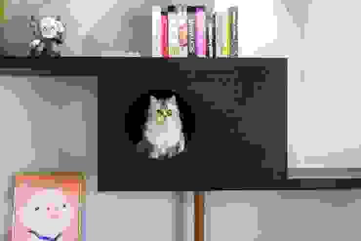 貓肥家潤 根據 澄月室內設計 工業風