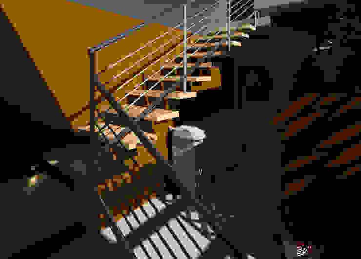 Elaine Hormann Architecture ห้องทำงาน/อ่านหนังสือ คอนกรีต Beige