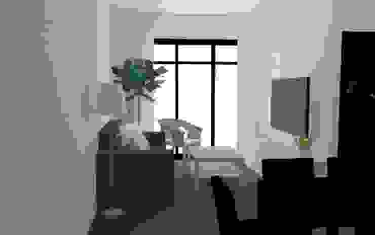 客廳 根據 用IKEA裝潢 鄉村風