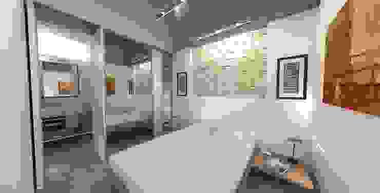 REFORMA VIVIENDA 1910 CALLE CARVAJAL LAS PALMAS GRAN CANARIA Dormitorios de estilo minimalista de RÖ | ARQUITECTOS Minimalista Piedra