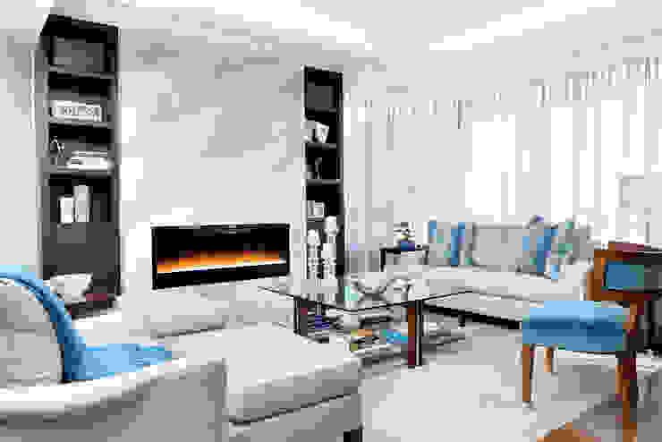 Salas de estilo moderno de Collage Designs Moderno Madera Acabado en madera