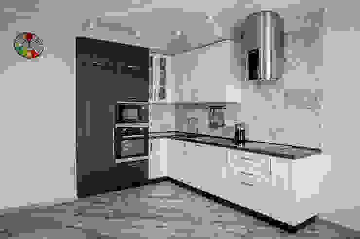 Дух путешествий ARTWAY центр профессиональных дизайнеров и строителей Кухня в стиле модерн