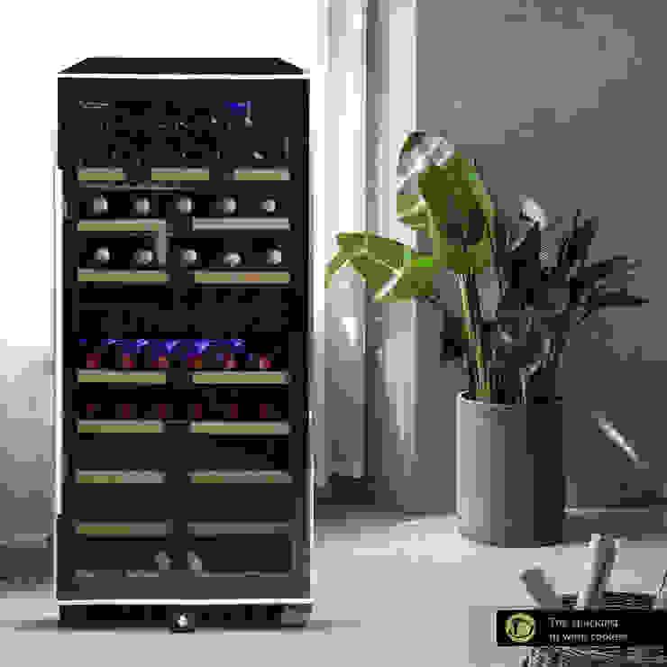 Cave à vin moderne par Datron | Cantinette vino Moderne