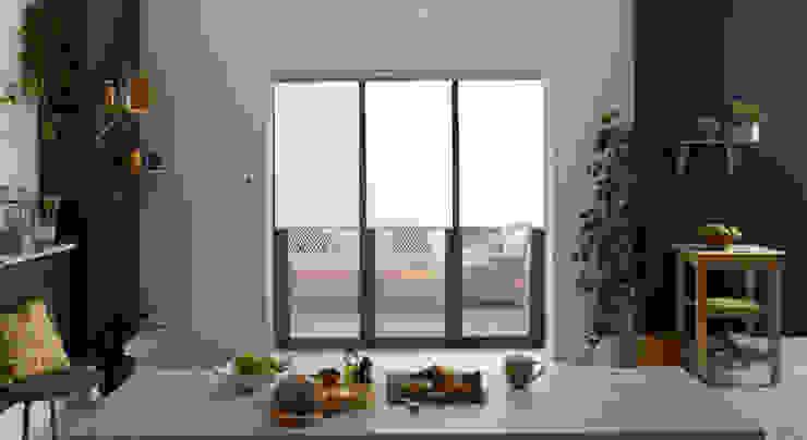 Stylish Roller blinds - ULTRA Smart Appeal Home Shading ห้องครัวสิ่งทอและของใช้จิปาถะในครัว White