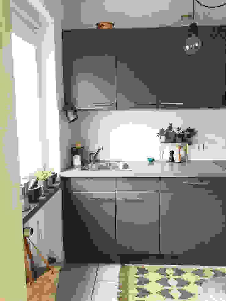 KANOS Design Kitchen Wood-Plastic Composite Grey