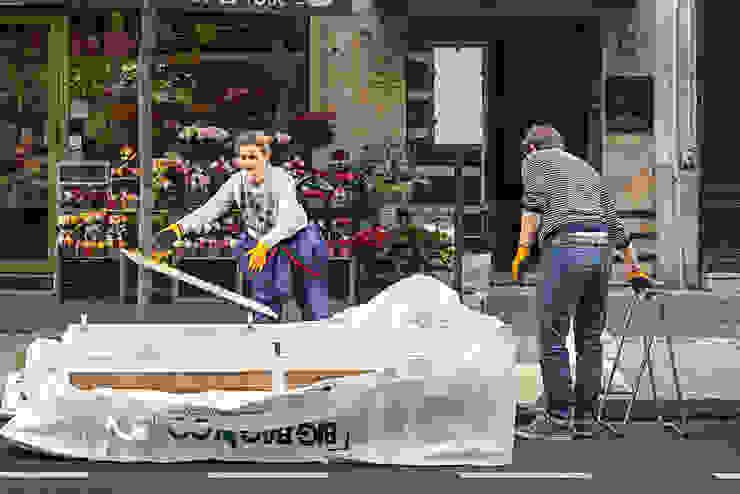 Remplissage big bag 2m3 - appartement Boulogne Big Bag 'n Go