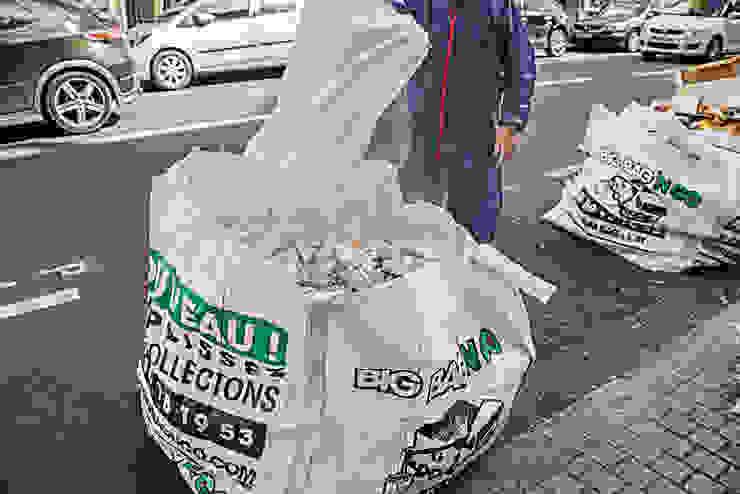 Remplissage big bag 1m3 - appartement Boulogne Big Bag 'n Go