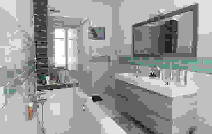 Salle de bains Créateurs d'Interieur Salle de bain originale Vert