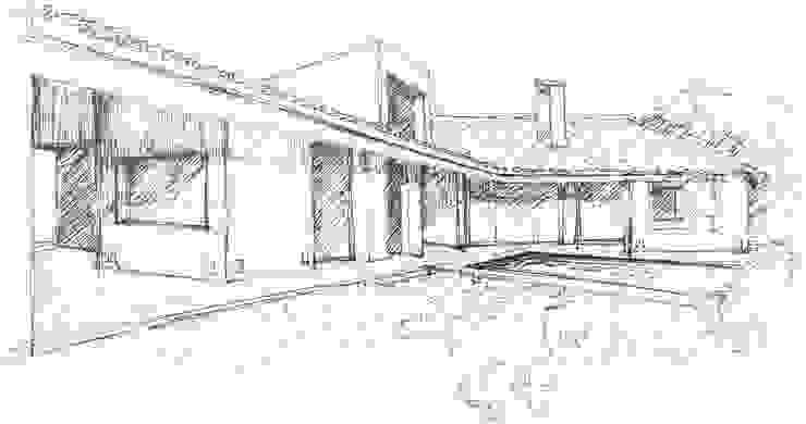 Croquis de Otto Medem Arquitecto vanguardista en Madrid Moderno