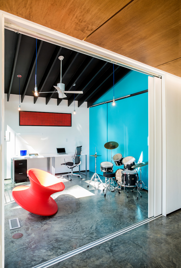 KUBE architecture Media room