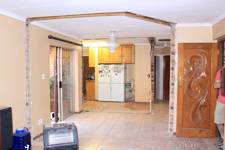 All the walls broken out by Pretoria Kitchens and Bedrooms