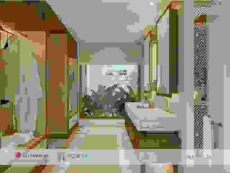 Đá nhân tạo cho dự án Maia Quy Nhơn Beach Resort Phòng tắm phong cách hiện đại bởi HOMEMAS ( THÀNH VIÊN CÔNG TY CỔ PHẦN QHPLUS ) Hiện đại
