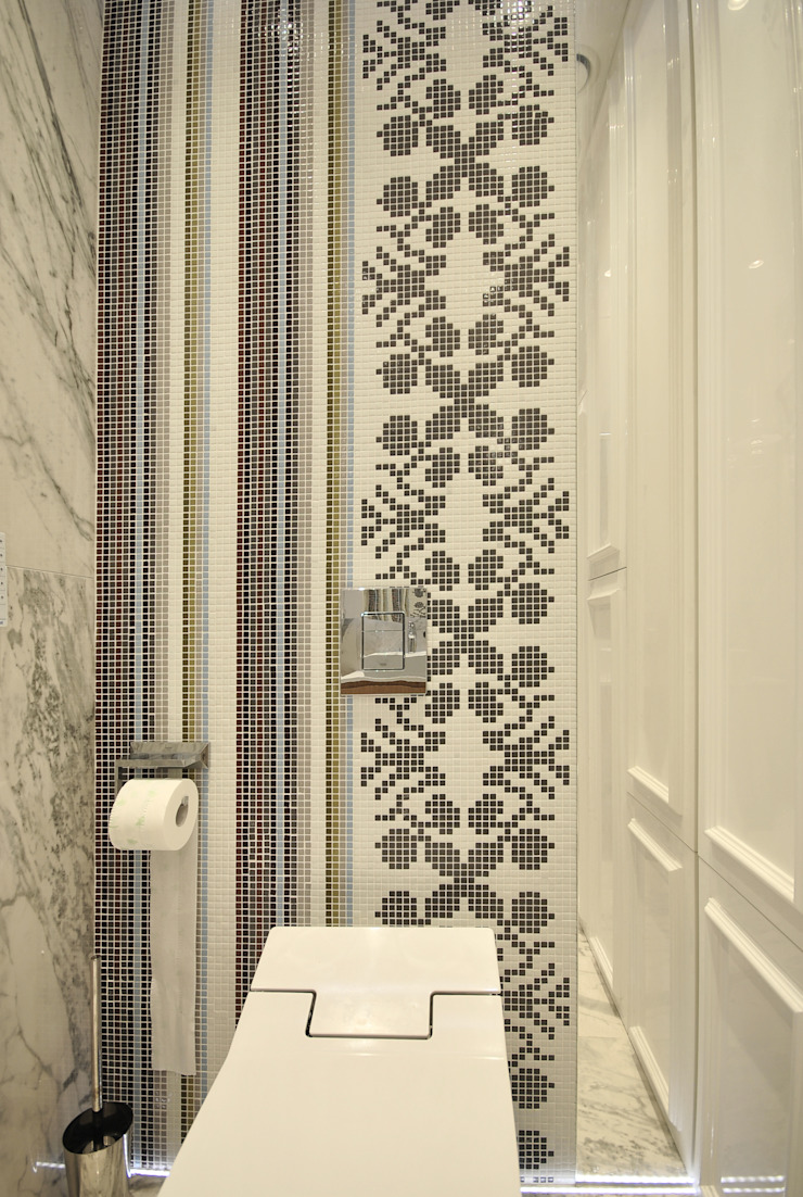 Piotr Stolarek Projektowanie Wnętrz Eclectic style bathroom