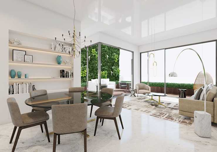 Home interiors by Designers Gang