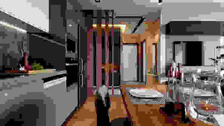 Çalık Konsept Mimarlık – Mutfak ve Antre: modern tarz , Modern