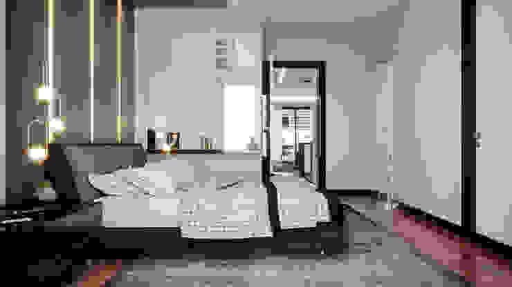Çalık Konsept Mimarlık – Yatak Odası: modern tarz , Modern