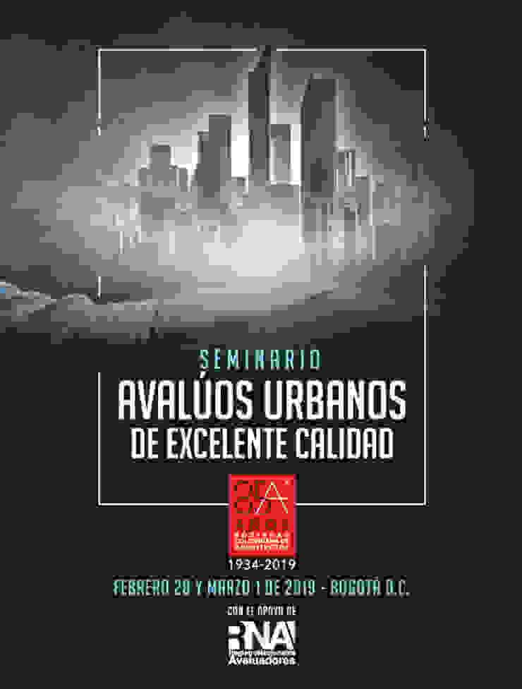 SEMINARIO AVALÚOS URBANOS DE EXCELENTE CALIDAD de Sociedad Colombiana de Arquitectos Moderno