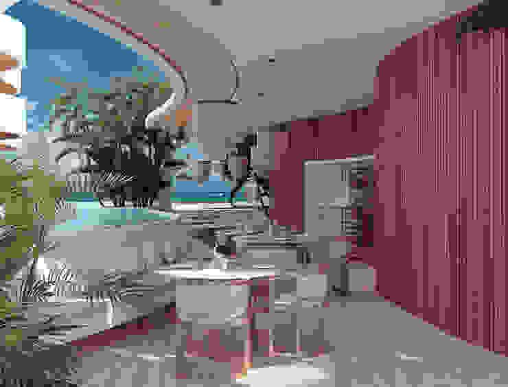 BÖHEM STUDIO Hotels Wood Wood effect