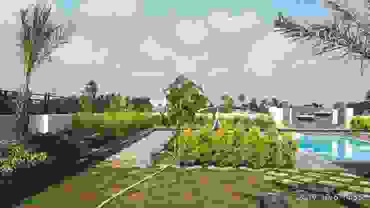 de Growscape Landscape Architect Asiático Arenisca
