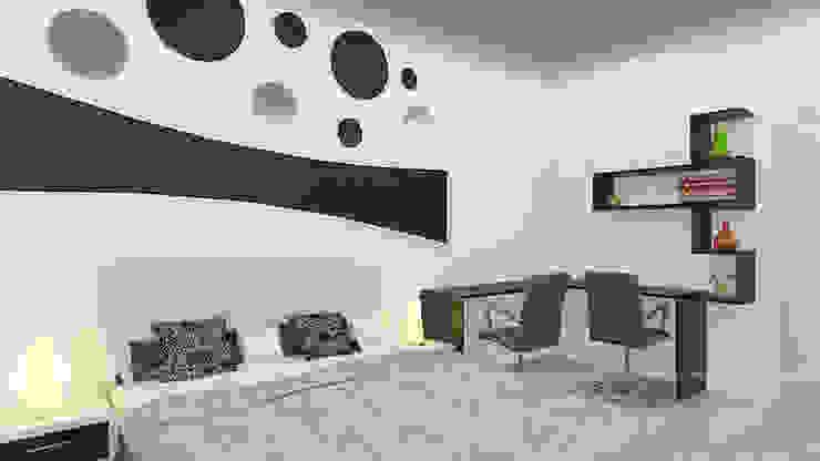 Master Bedroom Modern style bedroom by 360 Degree Interior Modern