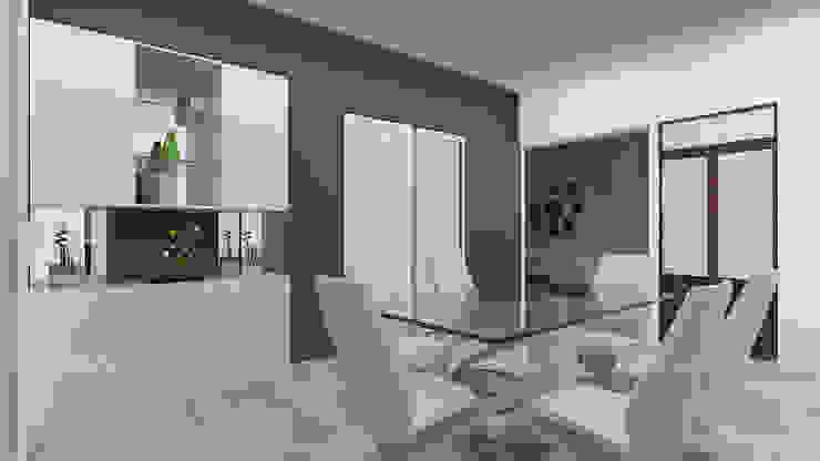 Crockery Unit Minimalist dining room by 360 Degree Interior Minimalist Plywood