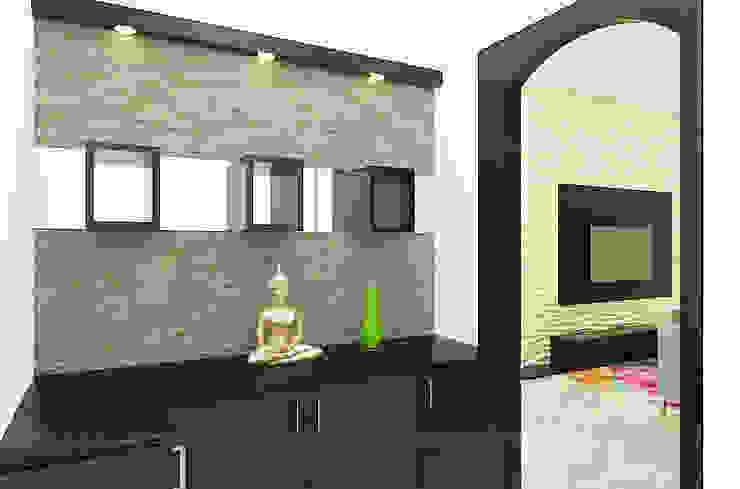 Foyer Area Minimalist walls & floors by 360 Degree Interior Minimalist Plywood