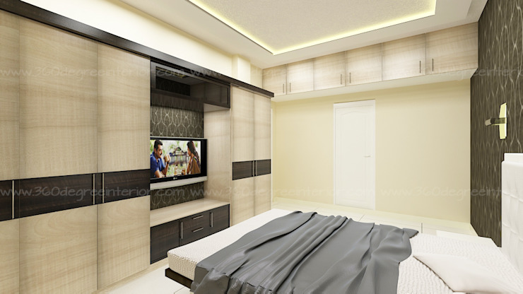 Bedroom by 360 Degree Interior Modern Plywood