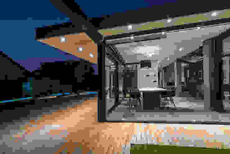 vetrata in alluminio schuco di Modoal Moderno Alluminio / Zinco