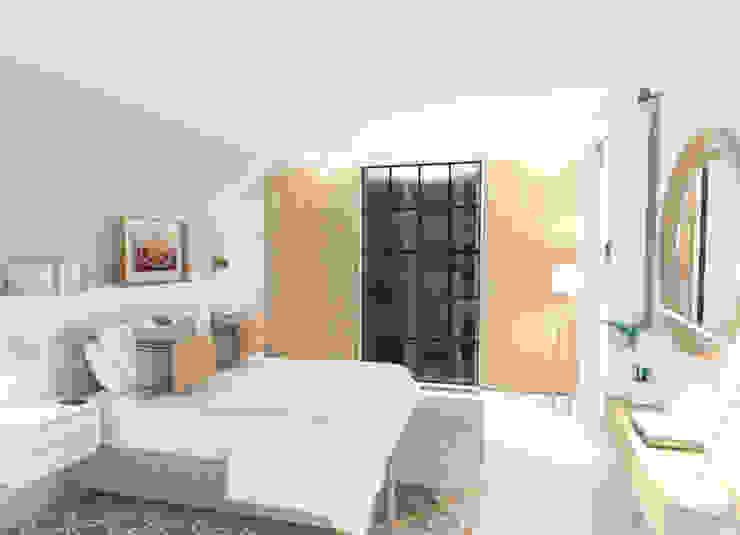 Dormitorio - Proyecto interiorismo ONLINE Dormitorios de estilo escandinavo de YO TE CUENTO COMO Escandinavo