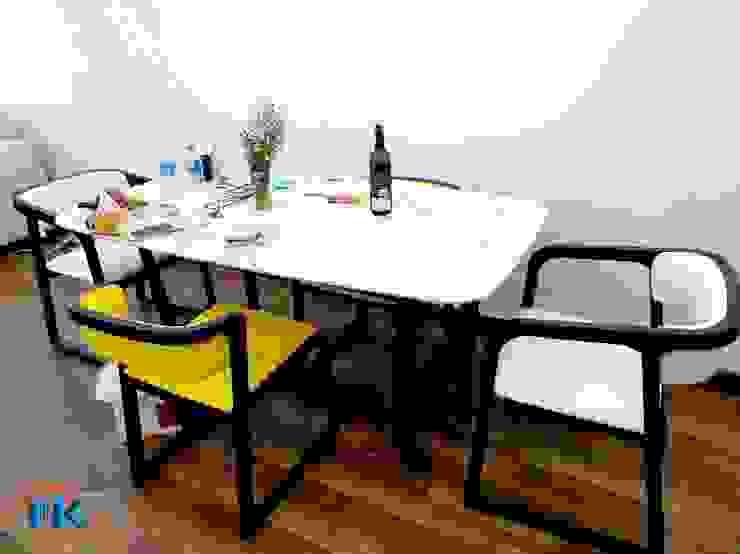 Hình ảnh bàn giao nội thất phòng khách, phòng ngủ chất liệu gỗ melamine an cường bởi Nội thất Nguyễn Kim