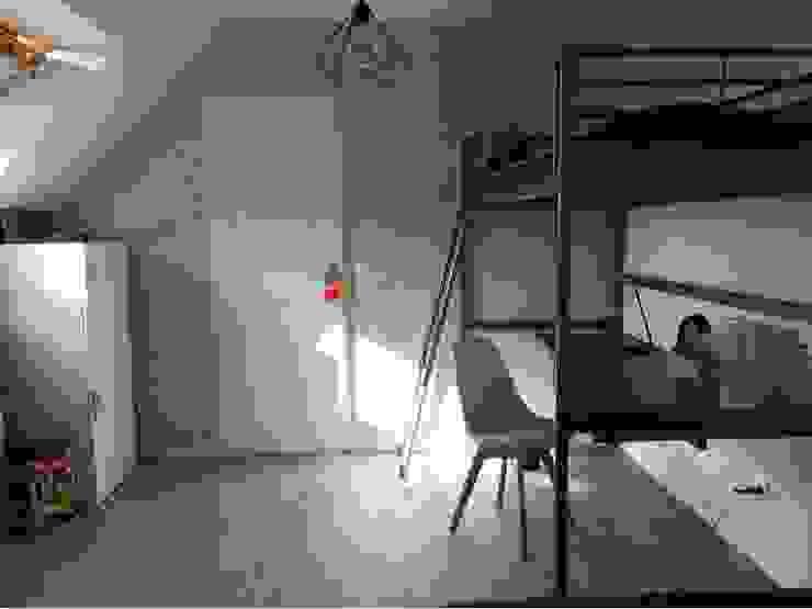 Une chambre de 12m² pour 2 ados - Yvelines (78) Mon décorateur privé - MDP Chambre d'adolescent