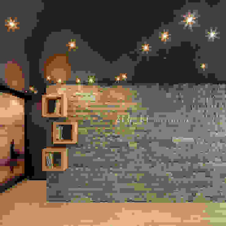Clinica Zenit Pasillos, vestíbulos y escaleras modernos de Dx Arquitectos Moderno