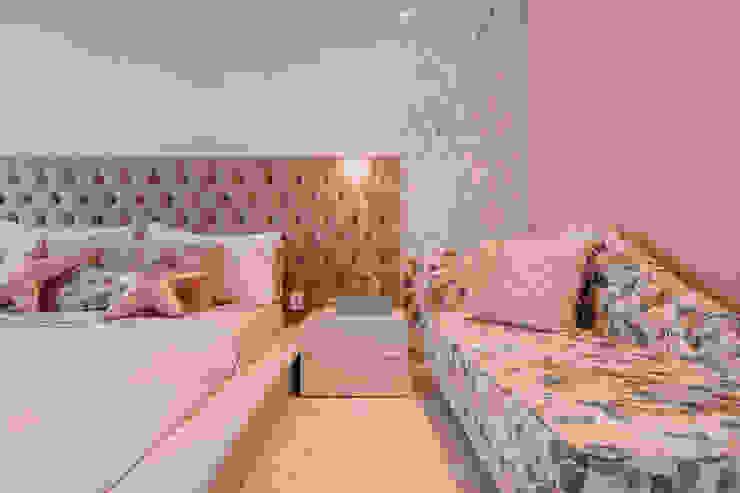 ISADORA MARTEL interiores Chambre fille Rose
