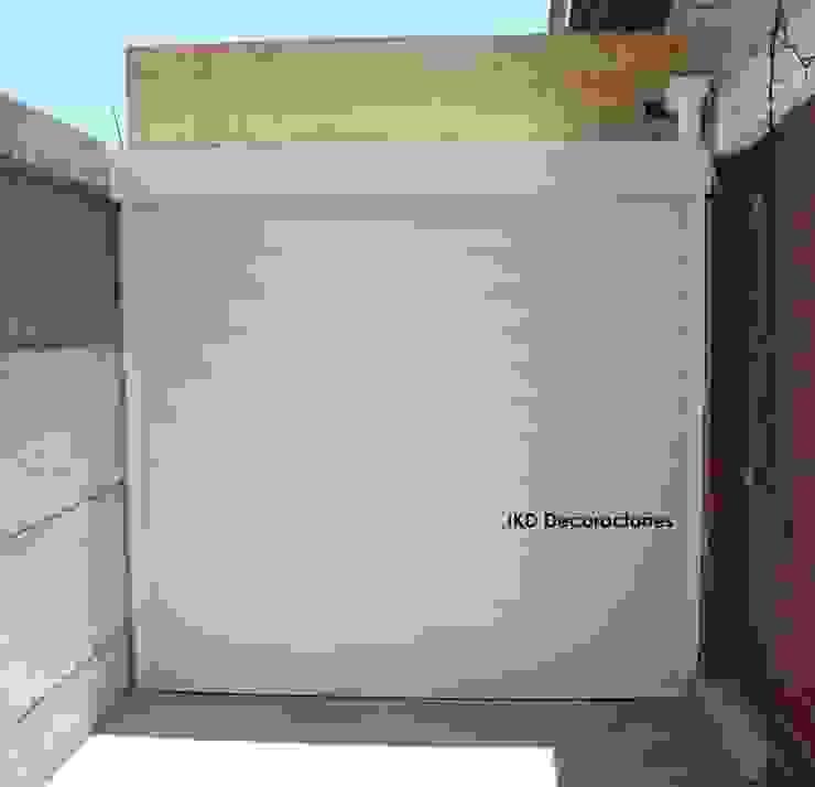 IKD Decoraciones Garages & sheds Aluminium/Zinc White