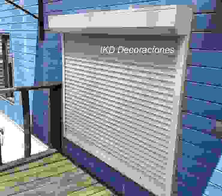 IKD Decoraciones Balconies, verandas & terraces Accessories & decoration Aluminium/Zinc White