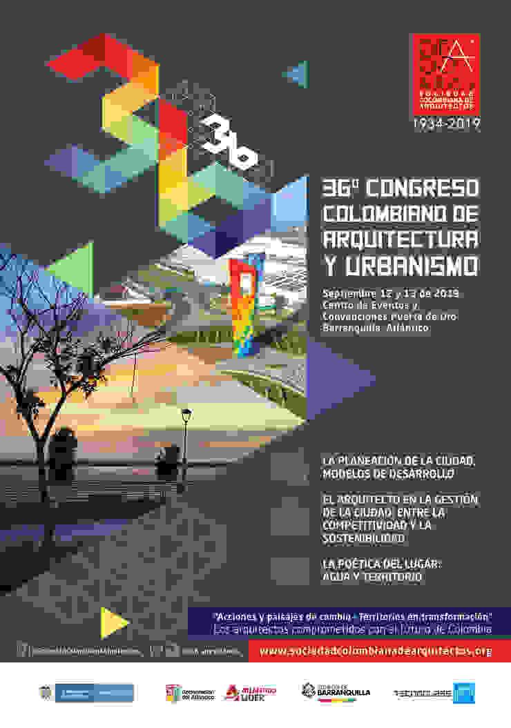 36º CONGRESO COLOMBIANO DE ARQUITECTURA Y URBANISMO de Sociedad Colombiana de Arquitectos Moderno