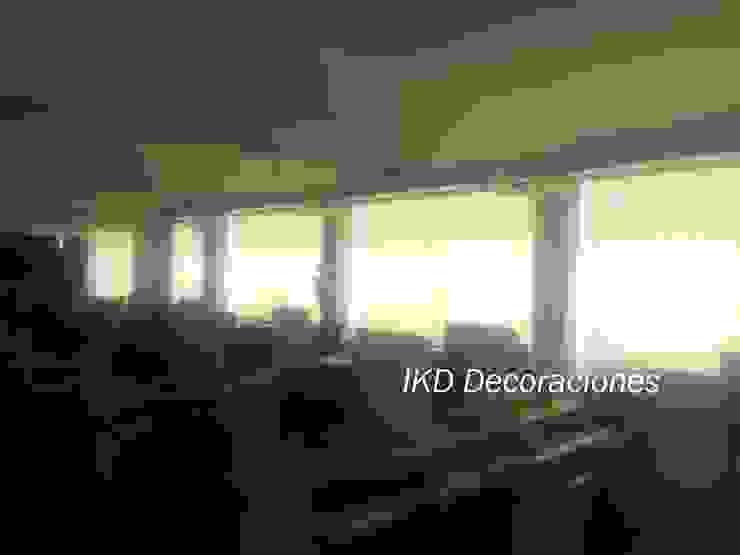 Cortinas Roller de IKD Decoraciones Minimalista Sintético Marrón