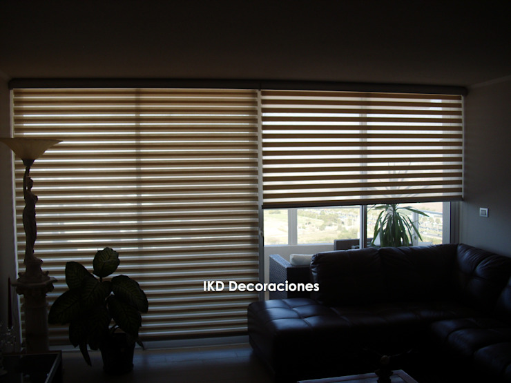 par IKD Decoraciones Minimaliste Synthétique Marron