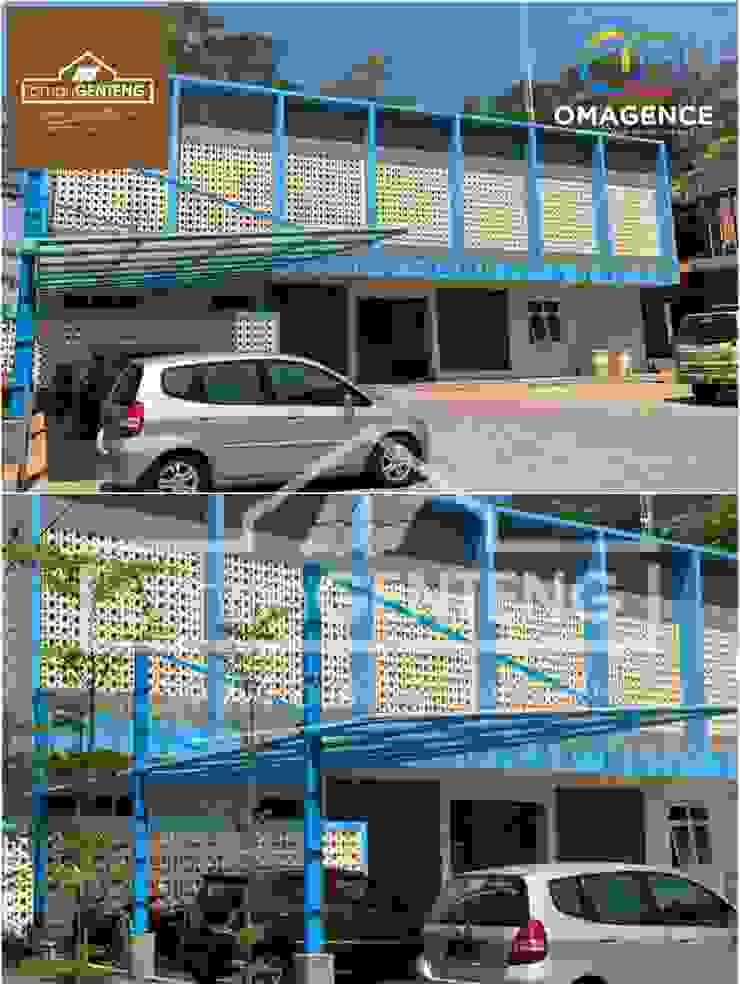HP/WA: 08122833040 - Roster Beton Padang - Omah Genteng - OMAGENCE Oleh Omah Genteng Minimalis Beton