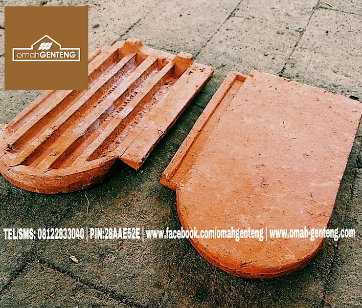 HP/WA: 08122833040 - Genteng Sirap Jakarta - Omah Genteng Omah Genteng Atap datar Batu Bata Red