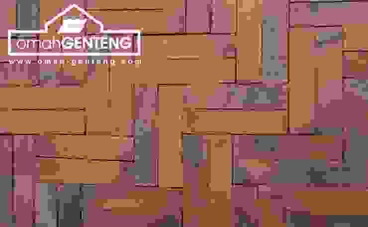 Omah Genteng Walls Bricks Brown