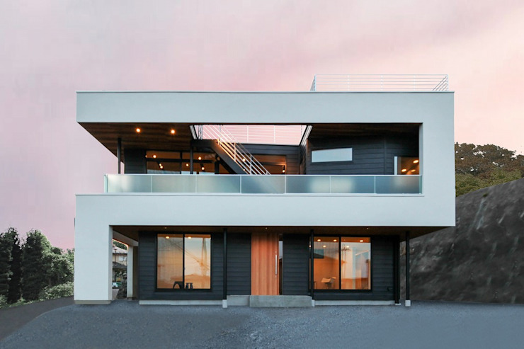 Eclectic style houses by STaD(株式会社鈴木貴博建築設計事務所) Eclectic
