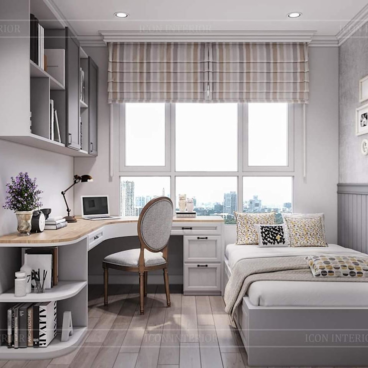Rustic style bedroom by ICON INTERIOR Rustic