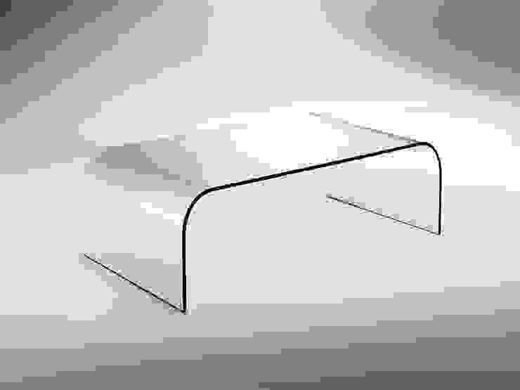 Tavolino da salotto in vetro curvato Gallery INFABBRICA SoggiornoTavolini Vetro Trasparente