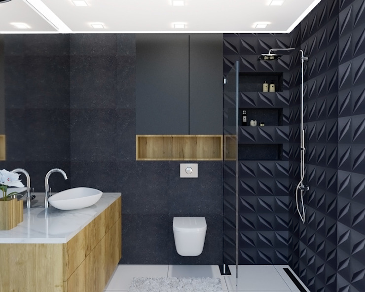 D' INTERIOR Modern bathroom