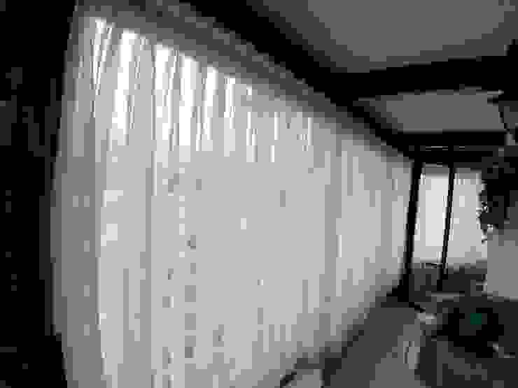 Visillo de velo lino de CORTINAJES MEDITH Clásico