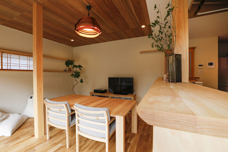 by 光風舎1級建築士事務所 Scandinavian Wood Wood effect