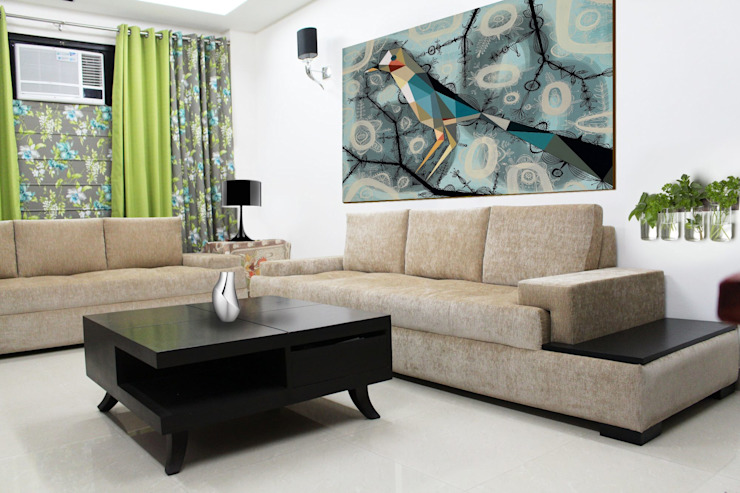 Modern Living Room by PlanHomes Modern