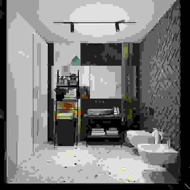 Otel Odası Banyo Tasarımı Akdeniz Oteller Entrada Mimarlık Akdeniz Seramik