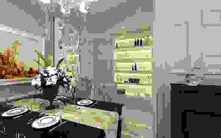 純淨潔白 新古典饗宴 經典風格的走廊,走廊和樓梯 根據 大棠室內裝修工程有限公司 古典風 木頭 Wood effect